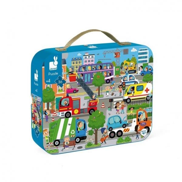 Puzzle w walizce 36: Miasto (J02659)