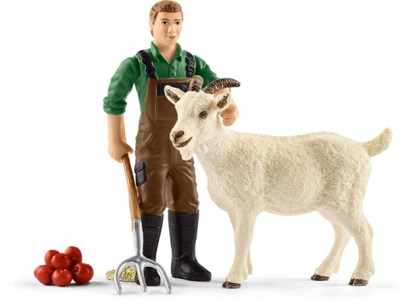 Farmer z kozą - 42375