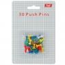 Pinezki Okoffice kolor: mix 30 szt (100-0061)