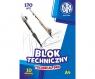 Blok techniczny Astra A4/10k, 170g - biały