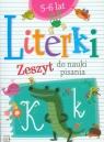 Literki Zeszyt do nauki pisania 5-6 lat