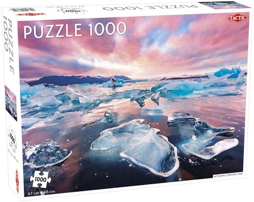 Puzzle 1000: Lodowiec Vatnajokull Park narodowy