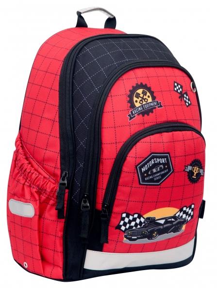 Hama, plecak szkolny - Racer (183856)