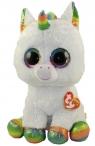 Maskotka Beanie Boos Pixy - Biały Jednorożec 42 cm (TY 36859)