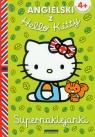 Angielski z Hello Kitty Supernaklejanki 4+ Akademia przedszkolaka Jagiełło Joanna