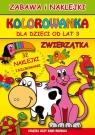 Zwierzątka Zabawa i naklejki. Kolorowanka dla dzieci od lat 3 Guzowska Beata, Superson Mateusz