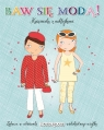 Baw się modą z naklejkami - Turkusowa