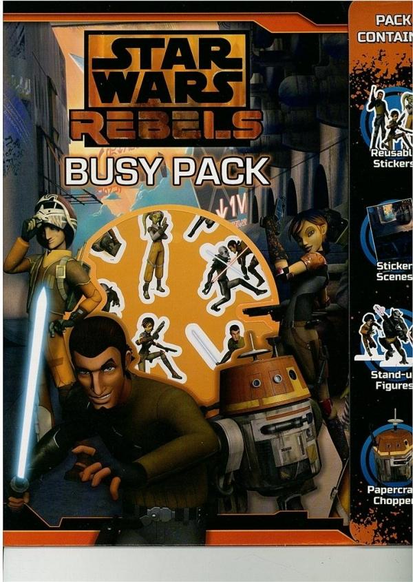 Busy Pack Star Wars Rebels