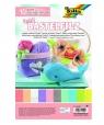 Filc dekoracyjny pastel 10 kolorów FOLIA PAPER