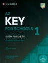 A2 Key for Schools 1 for the Revised 2020 Exam Student's Book with Answers with