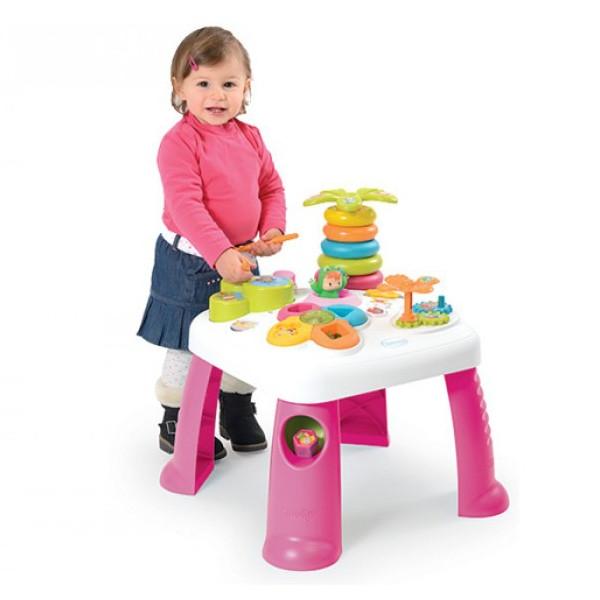 SMOBY Cotoons Stolik dla dziecka różowy (7600211067)
