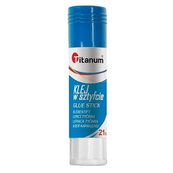 Klej w sztyfcie Titanum PVA 25g