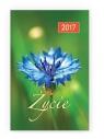 Kalendarz 2017 kieszonkowy - Życie 4 kwiatek