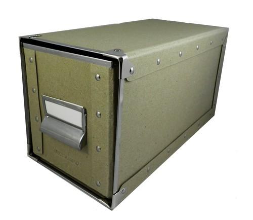 Pudełko-szuflada na płyty CD Leuchtturm1917 brązowe