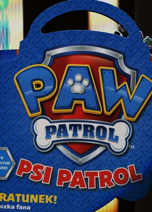 Psi patrol Na ratunek teczka z naklejkami