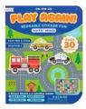 Naklejki wielorazowe mini z grą Play Again Pojazdy