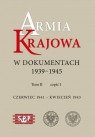 Armia Krajowa w dokumentach 1939-1945 Czerwiec 1941 ? kwiecień 1943 tom