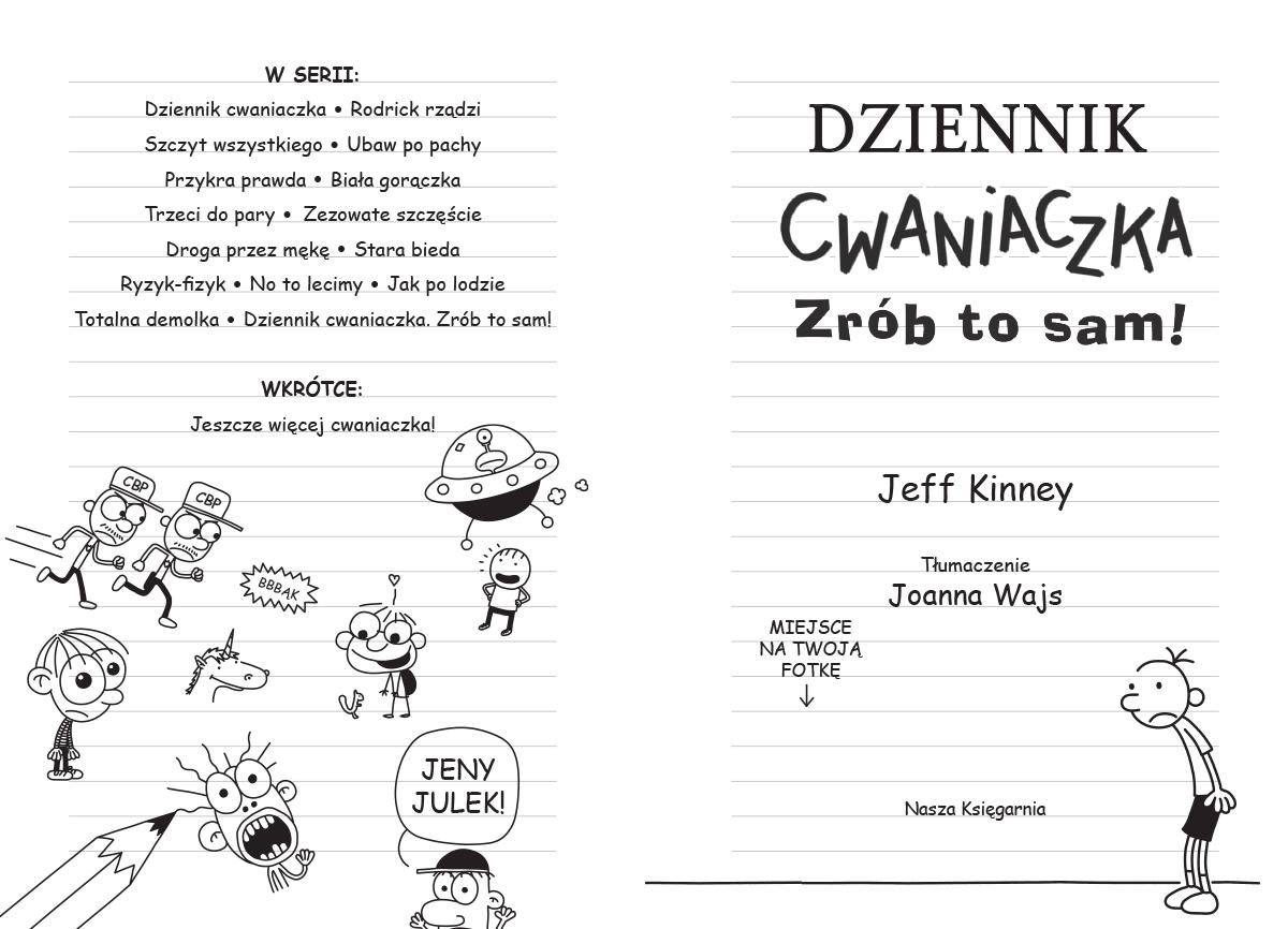 Dziennik cwaniaczka Kinney Jeff