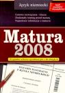 Matura 2008 Jęz niemiecki