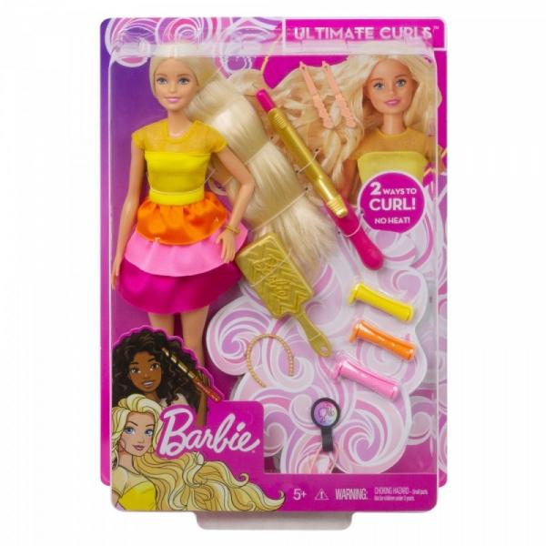 Lalka Barbie Stylowe loki (GBK24 / GBK23)