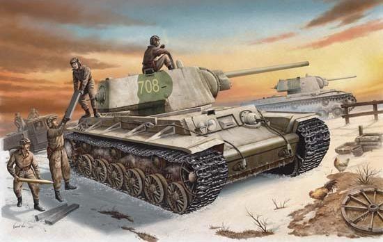 TRUMPETER Russia KV-1 mo del 1942 (MTR-00359)