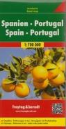HISZPANIA PORTUGALIA MAPA 1:700 000 FREYTAG & BERNDT