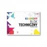 Blok techniczny kolorowy A4/20K (10szt) STRIGO