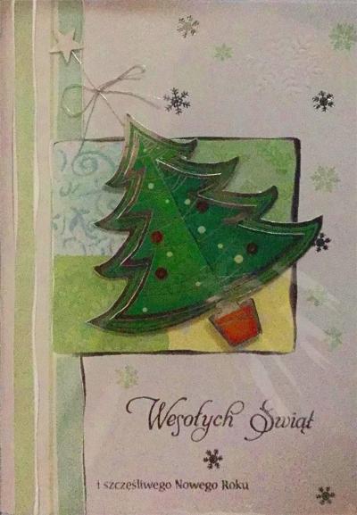 Karnet Boże Narodzenie B6 Premium 14 + koperta