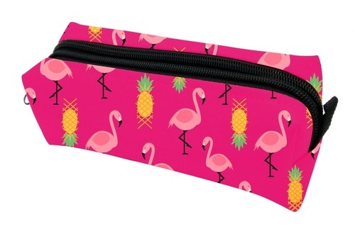 Piórnik PA 489 flamingi różowe