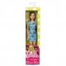 Barbie. Szykowna Barbie niebieska sukienka
