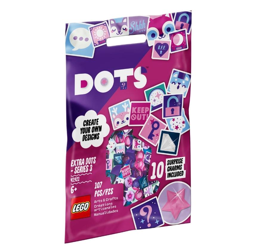 Lego DOTS: Dodatki DOTS — seria 3 (41921)