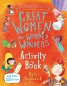 Fantastically Great Women Who Worked Wonders Activity Book Pankhurst Kate