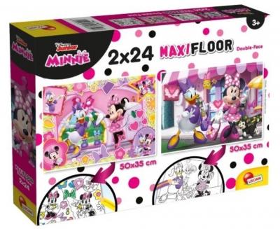 Puzzle Supermaxi 2x24 Minnie