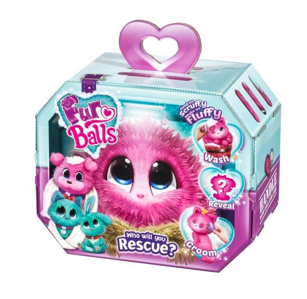 Fur Balls Pink (FUR635P)