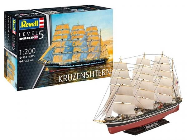 Model plastikowy Statek rosyjski Kruzenshtern (05159)