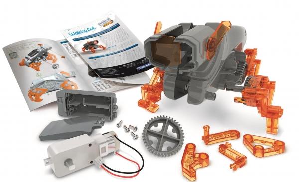Clementoni, Naukowa Zabawa Technologic: Walking Robot - Robot Bioniczny (50059)