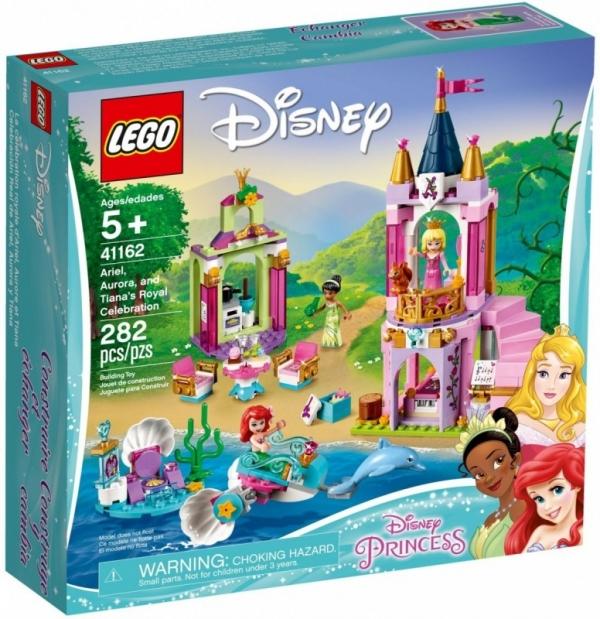 Klocki Disney Princess Królewskie przyjęcie Arielk (41162)