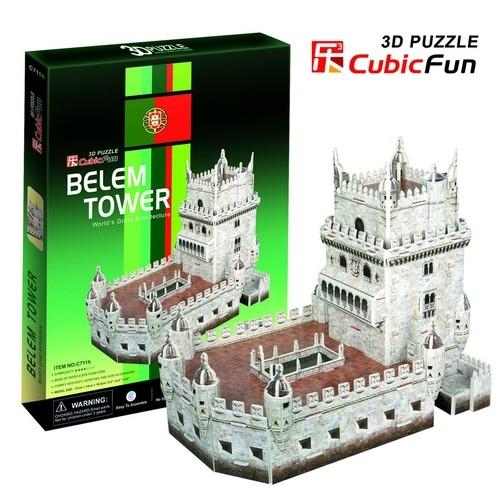 Puzzle 3D Belem Tower  (C711H)