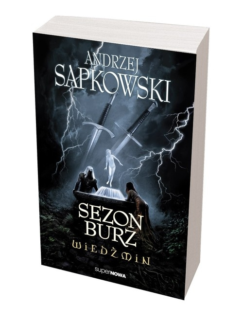 Sezon burz Wiedźmin Sapkowski Andrzej