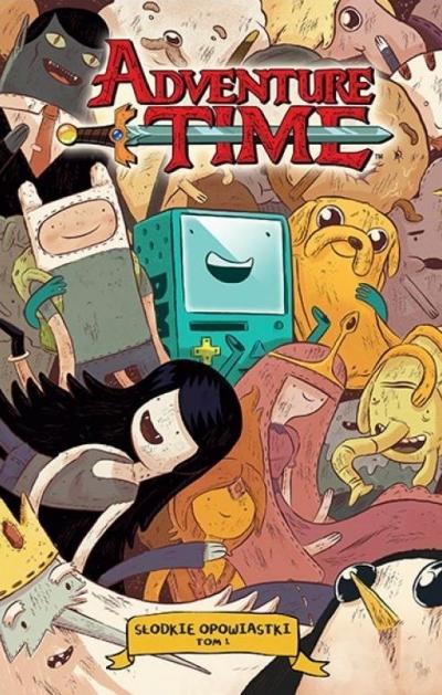 Adventure Time - Słodkie Opowiastki praca zbiorowa