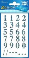 Naklejki do domu - cyfry (59159)