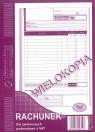Rachunek dla zwolnionych z VAT (pion) A5 80 (223-3)