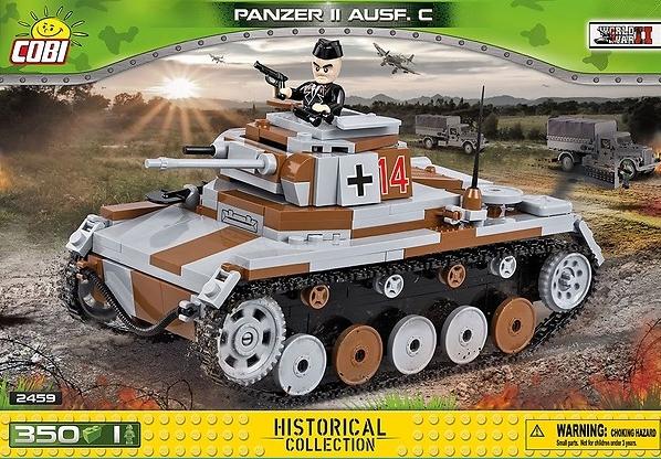 Cobi: Mała Armia WWII. Panzer II Ausf. C - 2459A