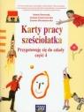 Karty pracy sześciolatka Przygotowuję się do szkoły część 4 Doroszuk Stenia, Gawryszewska Joanna, Hermanowska Joanna
