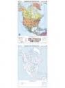 Mapa - Ameryka Płn. Polityczna NE