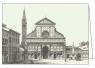 Karnet z kopertą ITW 007 Firenze Basilica S. Maria