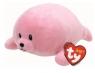 Maskotka Baby Ty: Doodles - różowa foka 15 cm (32159)