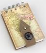 Kołonotes z kompasem Indie