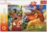Puzzle 100: Król Lew - Przygody Simby