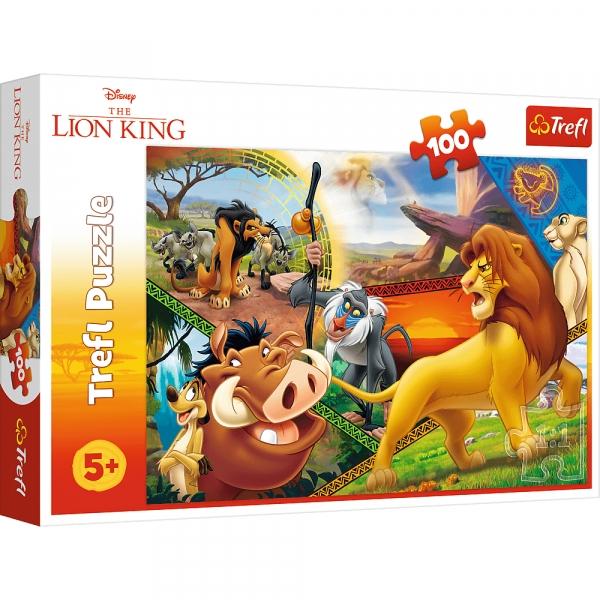Puzzle 100: Król Lew - Przygody Simby (16359)